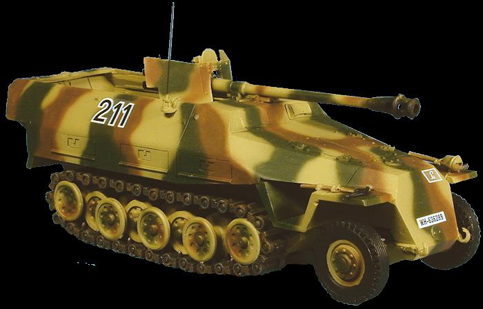 Conversion Hanomag Solido militaire