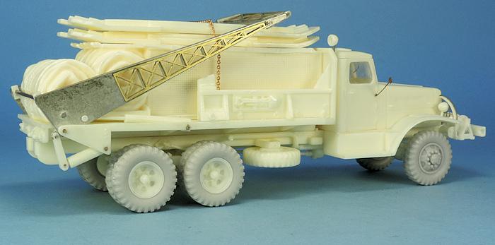 Camion de pontage Brockway B666 6x6