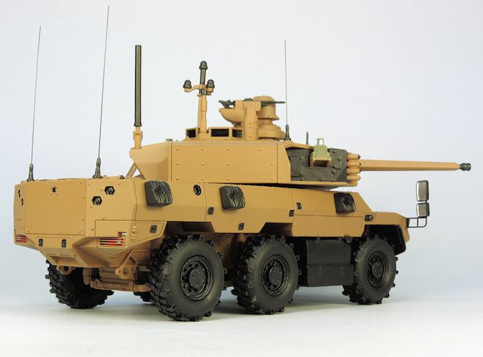 EBRC Jaguar en maquette