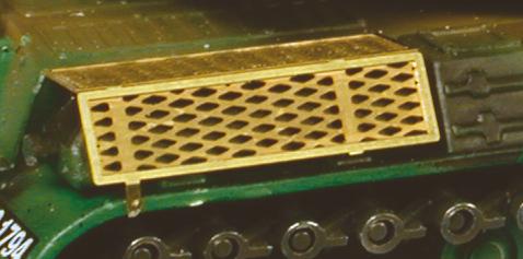 Grille protection échappement AMX 30 Solido