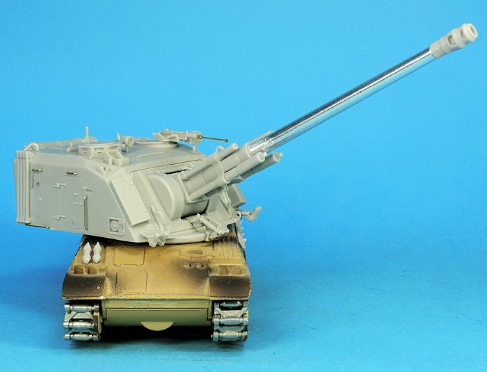 Même en miniature l'AMX 30 Au F1 reste une très belle bête