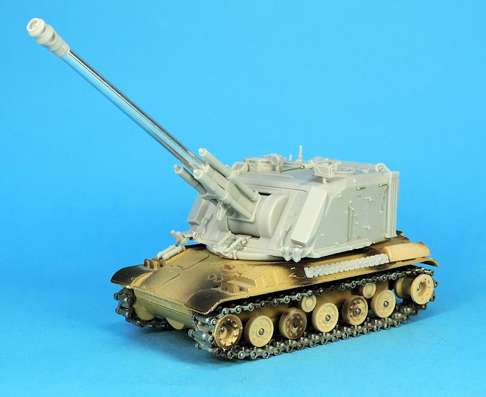 Détails de la conversion AMX 30 Au F1 par Gaso.line