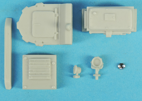 kit VAB ambulance miniature militaire Solido