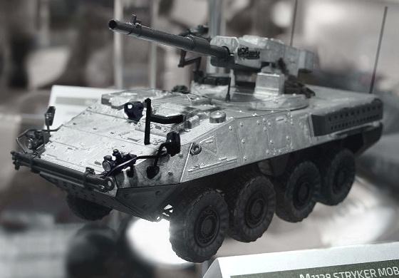Model Stryker M1128 MGS