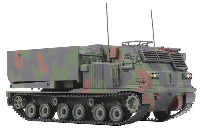 Miniature 1/48 M270 MLRS Solido