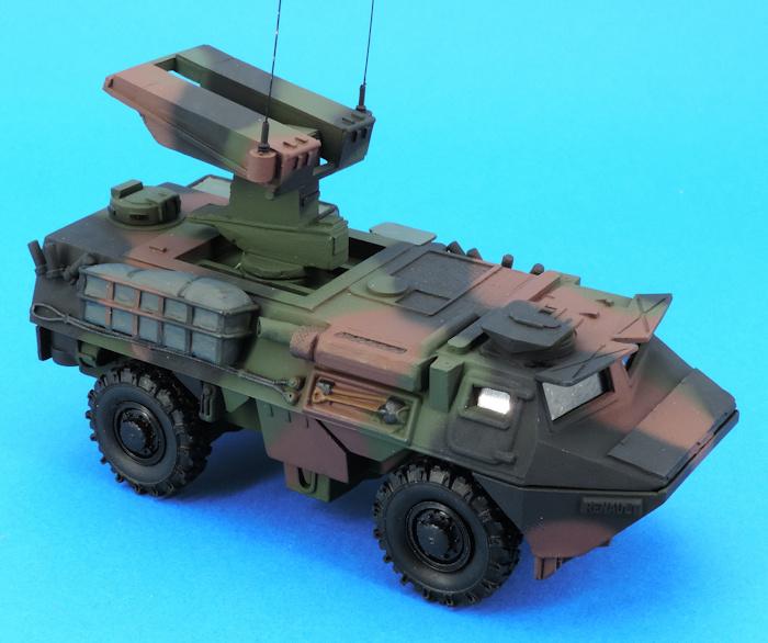 Maquette haut de gamme VAB Mephisto