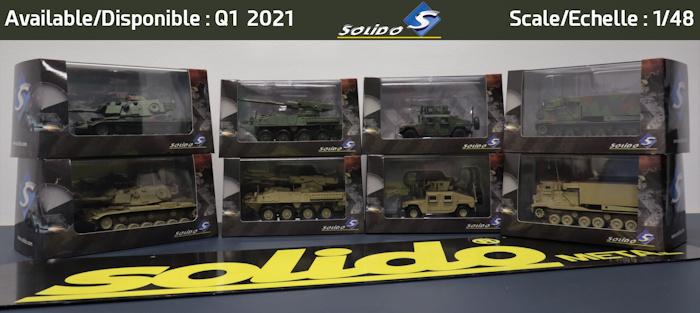 miniatures militaires Solido 2021