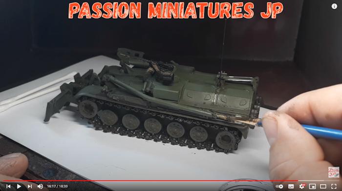 char Solido tank