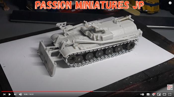 AMX 13 genie Solido
