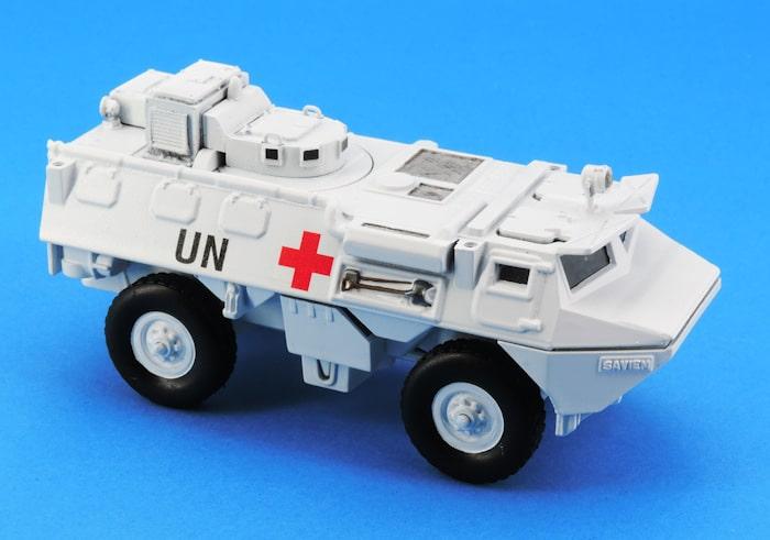 Conversion VAB Solido en ambulance