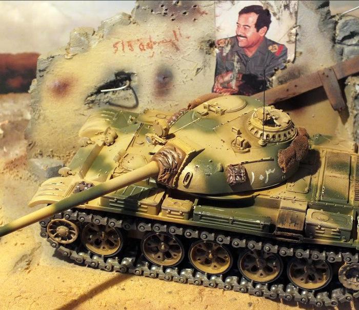 Maquette char T-55 Solido